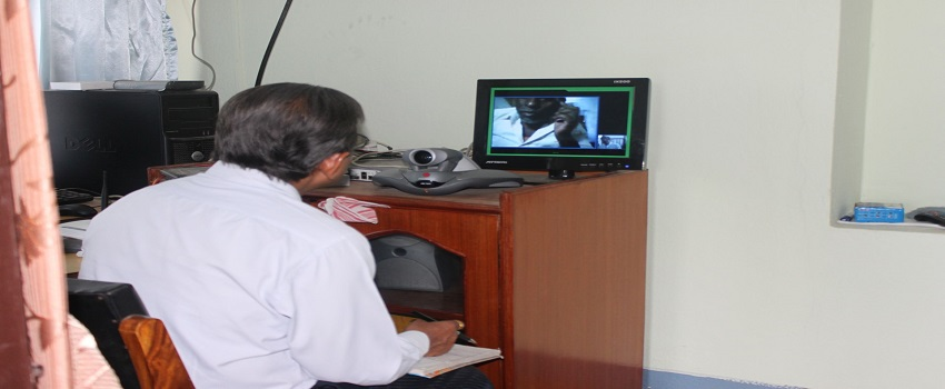 telemedicine at disharc